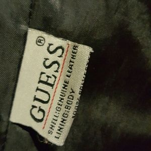 Guess Jackets & Coats - Guess Genuine Leather Vintage Moto Jacket